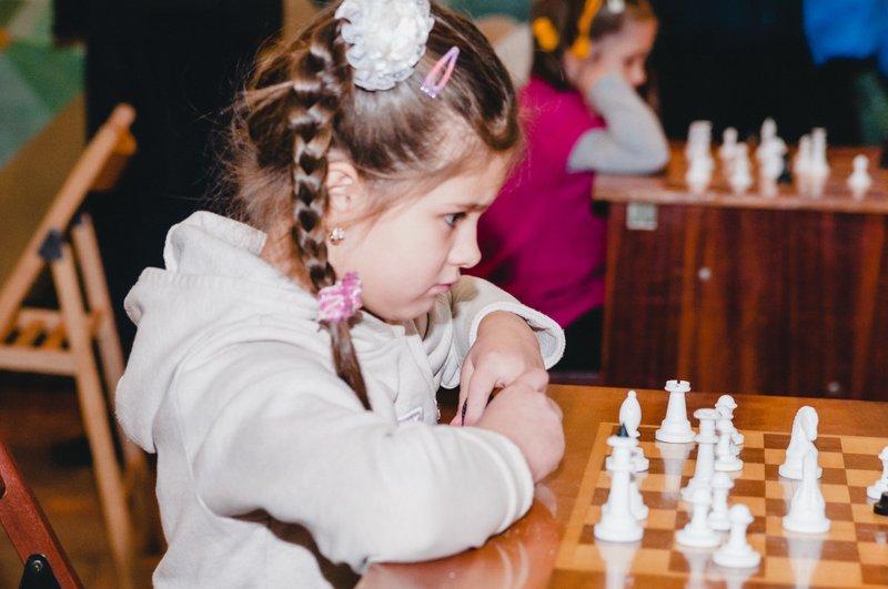 Маленькі розумники змагалися у шаховому турнірі