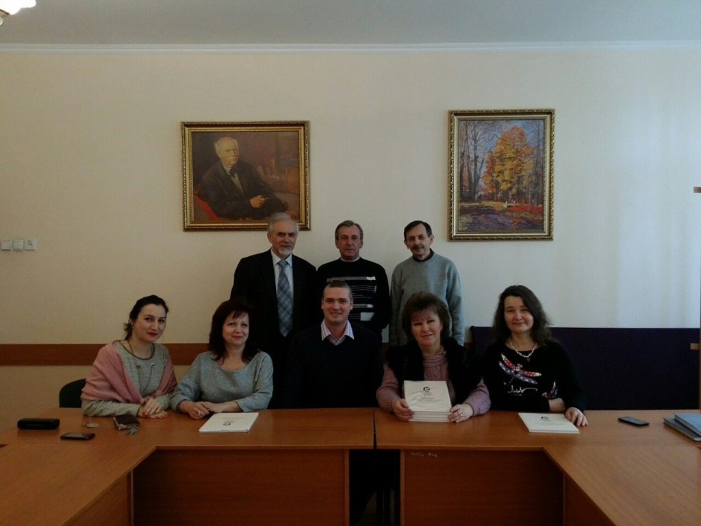Зустріч із Романом Меденці в Гуманітарно-педагогічному коледжі МДУ
