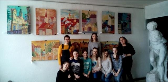 Виставка робіт студентів Закарпатської Закарпатської академії мистецтв