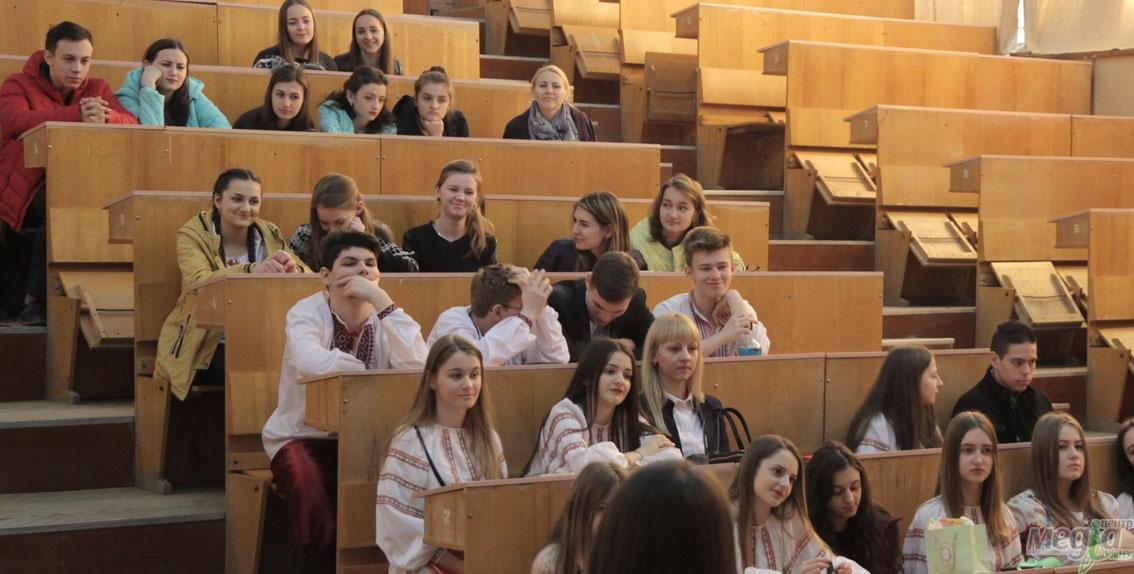 Ужгородські школярі на філологічному факультеті УжНУ