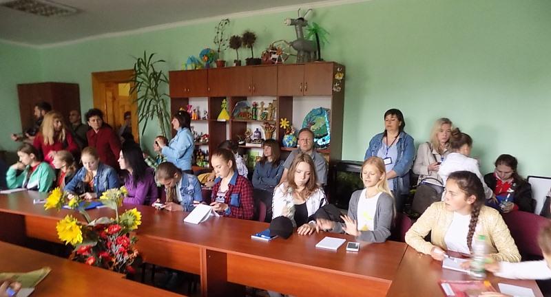 Під час збору юних екологів у Тернополі
