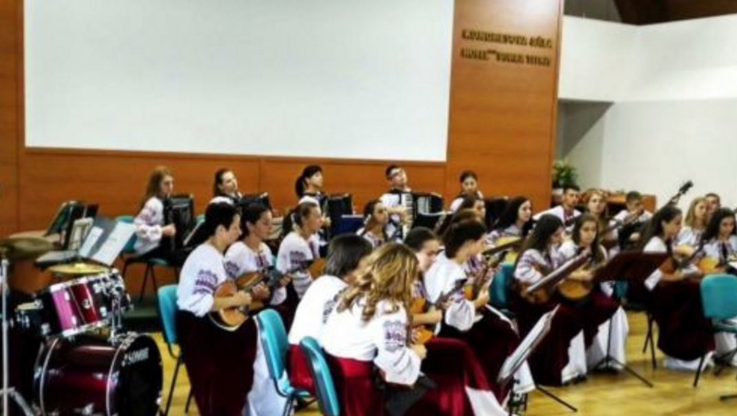 Виступ оркестру Ужгородського музичного коледжу