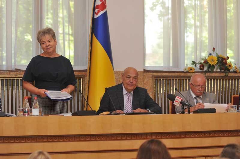 Відбулося розширене засідання колегії департаменту освіти і науки Закарпатської ОДА