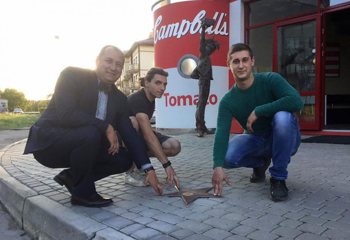 Федір Шандор відкриває зірку Енді Варголу