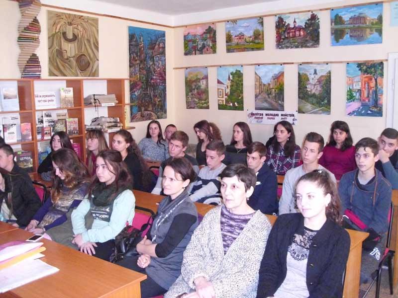Ужгородські студенти вчилися толерантності