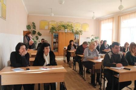 Засідання колегії управління освіти в Мукачеві