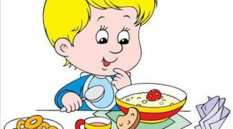 Харчування в дитсадку, їжа