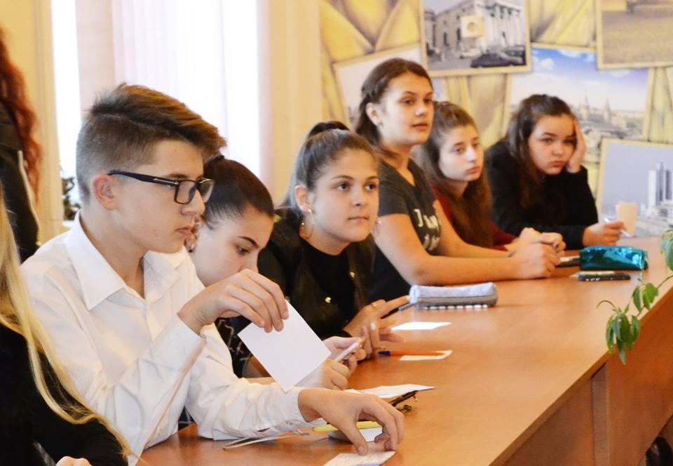 Вибори учнівського самоврядування в Ужгороді