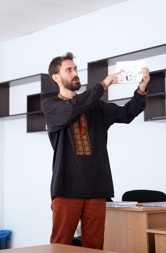 Віктор Коврей розповідає про свою збірку