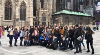 Мукачівські учні в Австрії