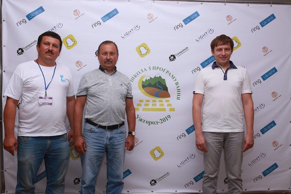 Олександр Міца, Микола Дронь, Петро Михайльо