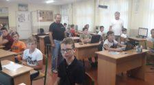 Сергій Вапнічний та Микола Дронь під час заняття в ІІІ лізі